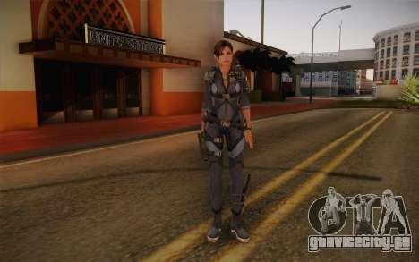 Jill Valentine from Resident Evil: Revelations для GTA San Andreas