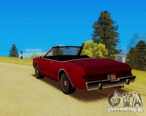 Majestic Кабриолет для GTA San Andreas вид слева
