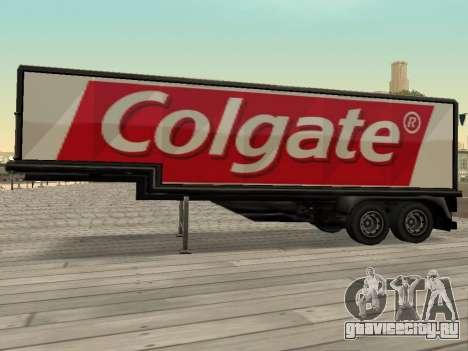 Новая реклама на автомобилях для GTA San Andreas второй скриншот