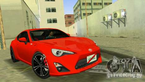 Toyota GT86 для GTA Vice City