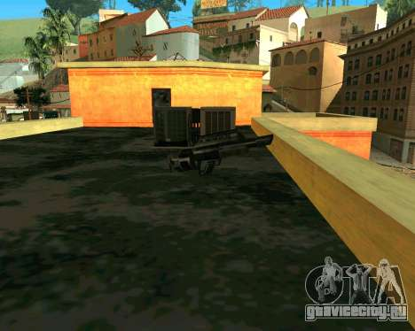 Jackhammer из Max Payne для GTA San Andreas третий скриншот