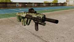 Автомат Steyr AUG-A3 Optic Green Camo для GTA 4