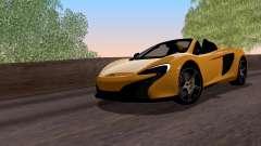 McLaren 650S Spyder 2014 для GTA San Andreas