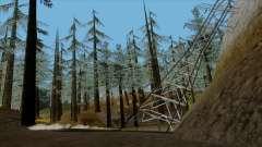 Густой лес v2 для GTA San Andreas