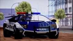 Lamborghini Murciélago LP670-4 Сверхбыстрый 2010 для GTA San Andreas