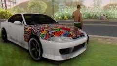 Nissan Silvia S15 Metal Style для GTA San Andreas