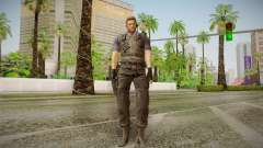 Wesker Stars from Resident Evil 5 для GTA San Andreas