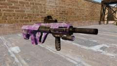Автомат Steyr AUG-A3 Purple Camo для GTA 4