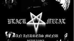 Black Metal Menu (полноэкранный)