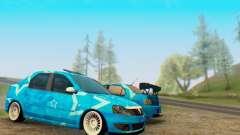 Dacia Logan Blue Star для GTA San Andreas
