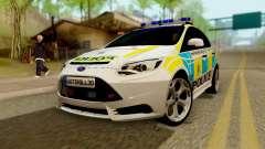 Ford Focus ST 2013 British Hampshire Police для GTA San Andreas