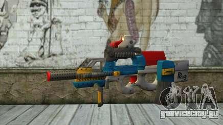 P90 MC Latin 3 from Point Blank для GTA San Andreas