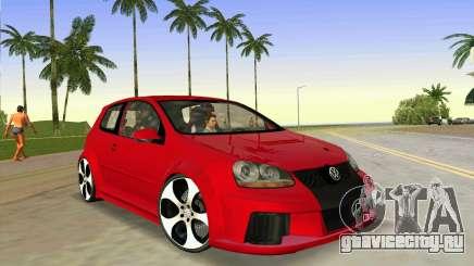 Volkswagen Golf GTI W12 для GTA Vice City