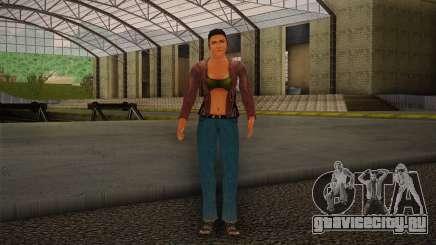 Woman Autoracer from FlatOut v4 для GTA San Andreas