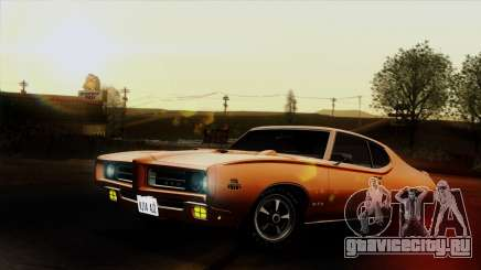 Pontiac GTO The Judge Hardtop Coupe 1969 для GTA San Andreas