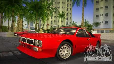 Lancia Rally 037 1982 для GTA Vice City