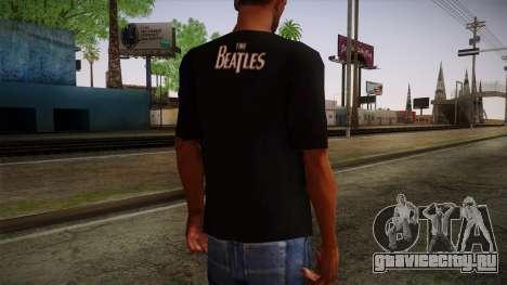 The Beatles Let It Be T-Shirt для GTA San Andreas второй скриншот