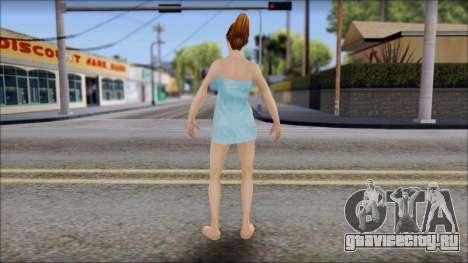 Mandy from Bully Scholarship Edition для GTA San Andreas третий скриншот