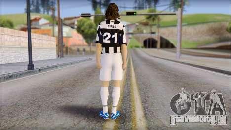 Andrea Pirlo для GTA San Andreas второй скриншот