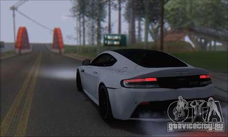 Aston Martin V12 Vantage S 2013 для GTA San Andreas вид слева
