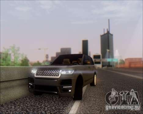Land Rover Range Rover Startech для GTA San Andreas вид справа