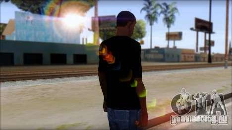 Sepultura Logo T-Shirt для GTA San Andreas второй скриншот