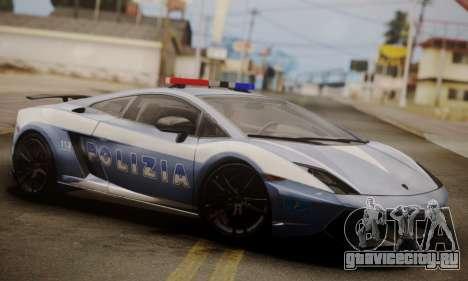 Lamborghini Gallardo LP 570-4 2011 Police v2 для GTA San Andreas