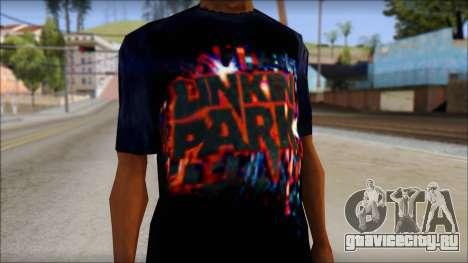 Linkin Park T-Shirt для GTA San Andreas третий скриншот