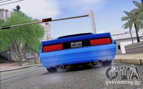 Buffalo Drift Style для GTA San Andreas вид справа