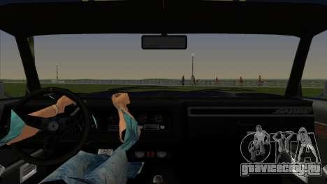 HD Sabre Turbo для GTA Vice City вид сзади слева