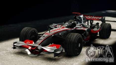 McLaren MP4-23 F1 Driving Style Anim для GTA 4