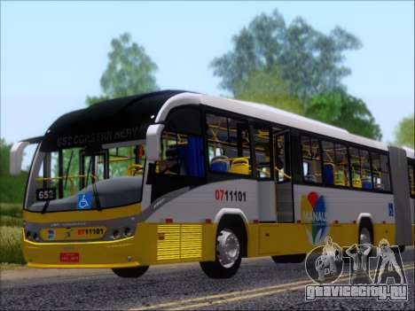 Neobus Mega BRT Volvo B12M-340M для GTA San Andreas двигатель