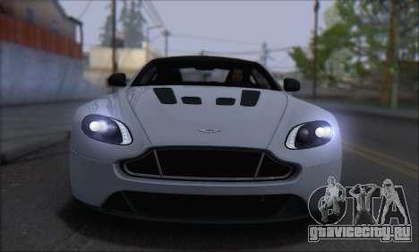 Aston Martin V12 Vantage S 2013 для GTA San Andreas вид сзади слева