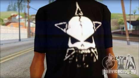 Infected Rain T-Shirt для GTA San Andreas третий скриншот