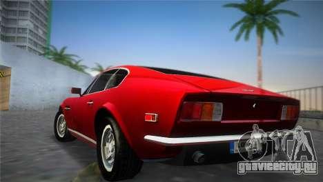 Aston Martin V8 Vantage 1970 для GTA Vice City вид слева