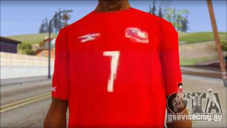 Seleccion Chilena T-Shirt 2010 для GTA San Andreas третий скриншот