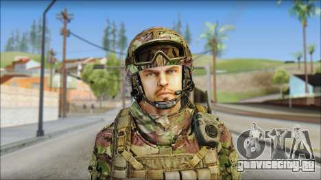 Forest SAS from Soldier Front 2 для GTA San Andreas
