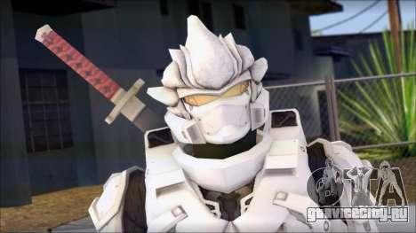 Halo 3 Hayabusa Armor для GTA San Andreas третий скриншот
