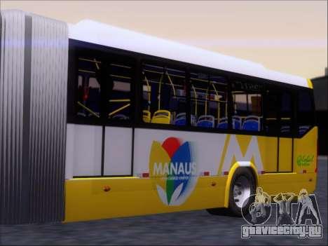 Прицеп Neobus Mega BRT Volvo B12-340M для GTA San Andreas вид сзади слева