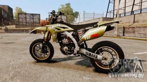 Yamaha YZF-450 v1.16 для GTA 4 вид слева