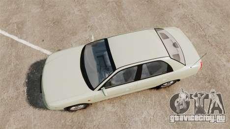 Daewoo Nubira I Sedan CDX PL 1997 для GTA 4 вид справа