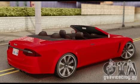 Lampadati Felon GT 1.1 для GTA San Andreas вид слева