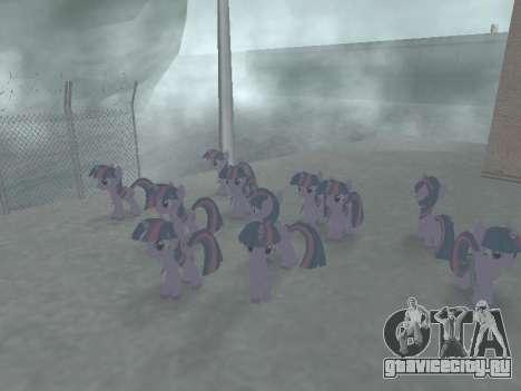 Twilight Sparkle для GTA San Andreas шестой скриншот