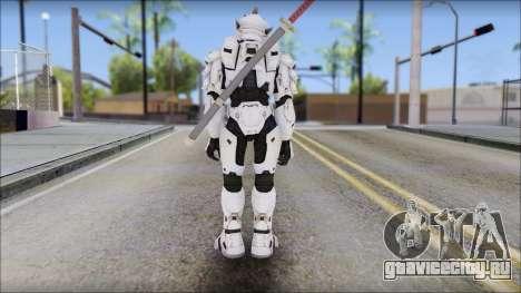 Halo 3 Hayabusa Armor для GTA San Andreas второй скриншот