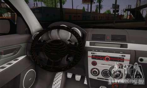 Mazda Speed 3 Tuning для GTA San Andreas вид сзади слева