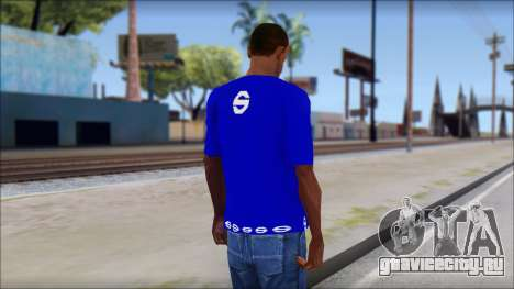 Sparco T-Shirt для GTA San Andreas второй скриншот