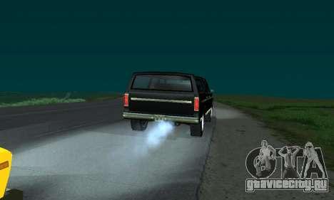 New FBI Rancher для GTA San Andreas вид слева