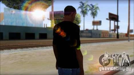 E Logo T-Shirt для GTA San Andreas второй скриншот