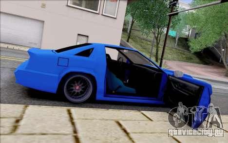 Buffalo Drift Style для GTA San Andreas вид сверху