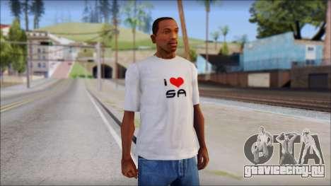 I Love SA T-Shirt для GTA San Andreas